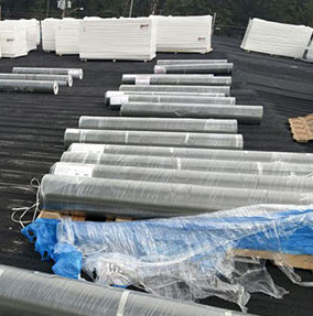 Single Ply Roof Installation